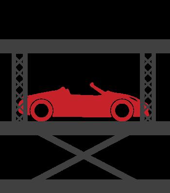 Icon of car lift SL-3