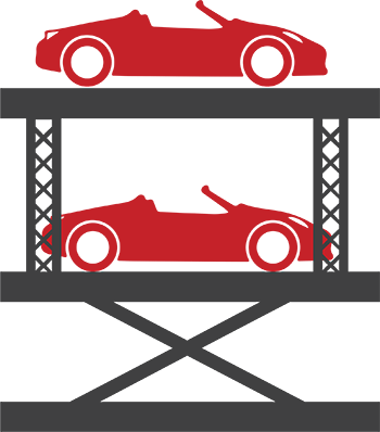 Icon of car lift SL-6